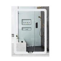 Зеркало Qtap Mideya с антизапотеванием 600х800 QT2078F937W