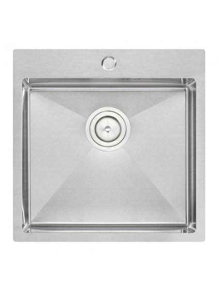 Кухонная мийка Qtap D5050 2.7/1.0 мм (QTD505010)