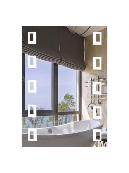 Зеркало Lidz 140.08.03 500х700 с LED-подсветкой