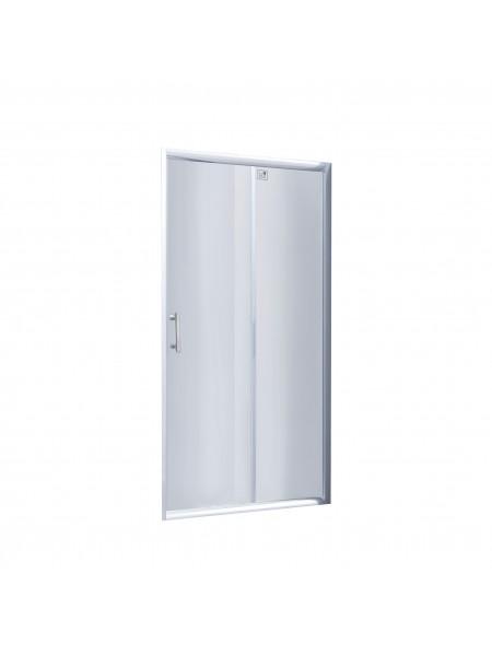 Душевая дверь в нишу Lidz Zycie SD90x185.CRM.TR, стекло прозрачное 5 мм