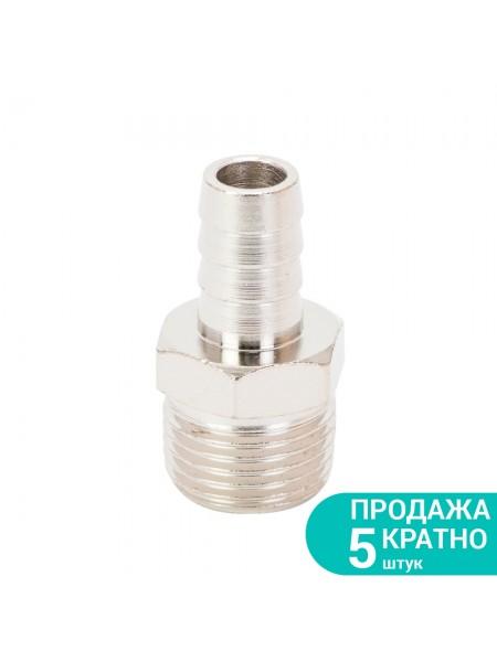 """Штуцер для шланга с наружным резьбовым соединением 12мм 1/2"""" Sigma (7023351)"""