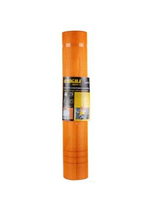 Стеклосетка штукатурная щелочестойкая оранжевая 145г/м2 5×5мм 1×50м SIGMA (8406831)