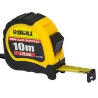 Рулетка Shiftlock 10м ,25мм, Sigma 3815101