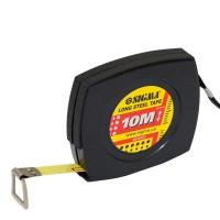 Рулетка стальная лента 10м, 10мм (черная), Sigma 3816101