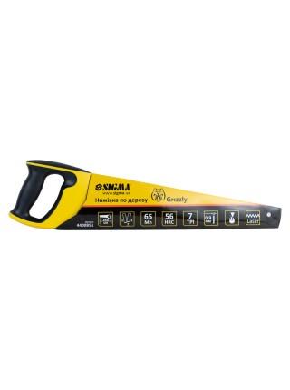 Ножовка по дереву 450мм 7TPI Grizzly Sigma 4400851