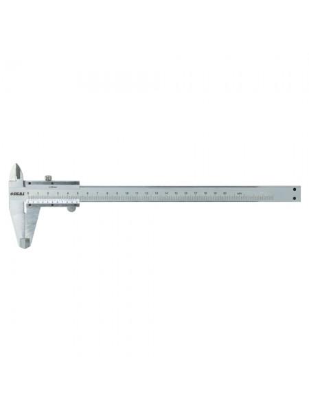 Штангенциркуль мех 200мм точность 0.02мм (пенал) Sigma 3922211
