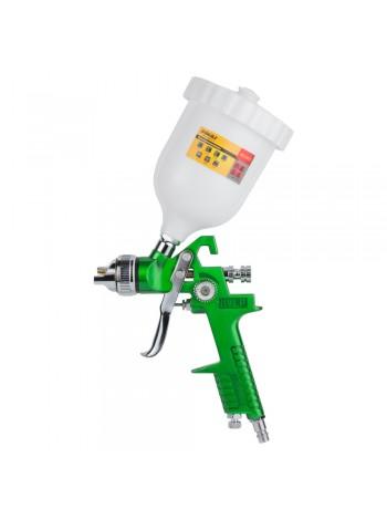 Краскораспылитель HVLP Ø1.4 с в/б  (зеленый) Sigma (6812021)