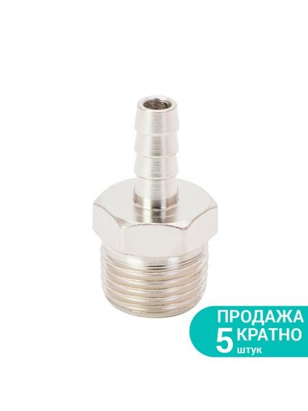 """Штуцер для шланга с наружным резьбовым соединением 8мм 1/2"""" Sigma (7023331)"""