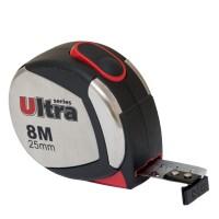 Рулетка магнитная, нейлоновое покрытие  8м, 25мм, Ultra Sigma 3822082