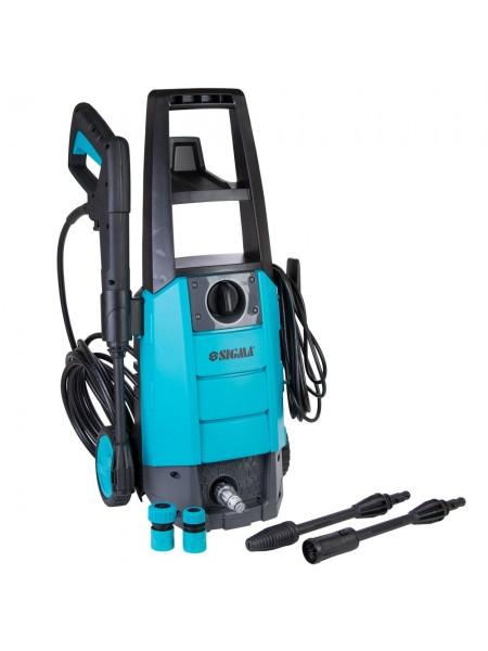 Мойка автомобильная 1700 Вт max 130bar 6.7 л/мин + турбонасадка Sigma 5342071