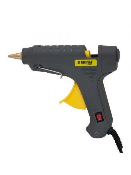 Пистолет термоклеевой с выключателем 60 Вт, Sigma 2721081