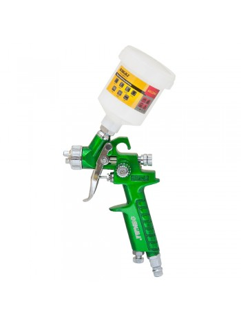 Краскораспылитель HVLP-mini  Ø0.8 (зел) в/б (пласт) Sigma (6812041)