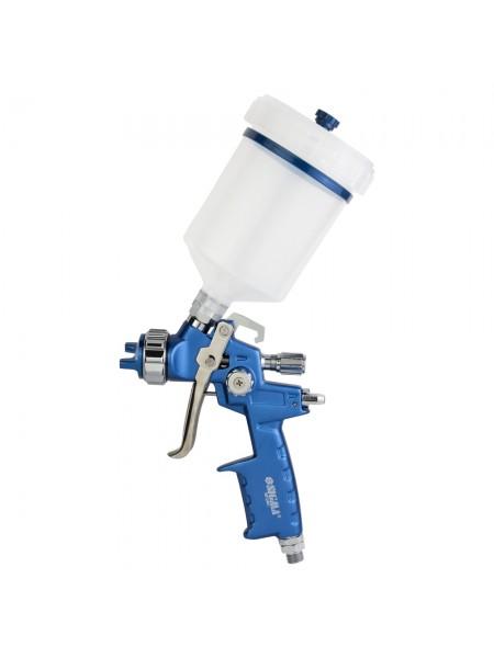 Краскораспылитель HVLP Ø1.4мм 170-285л/мин 2.5бар в/б 500мл (пласт) Refine (6812401)