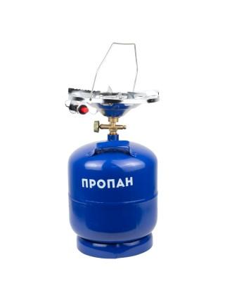 Комплект газовый кемпинг с пьезоподжигом Comfort 8л SIGMA (2903121)