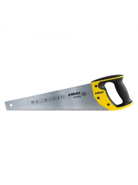 Ножовка по дереву 400мм 7TPI Grizzly Sigma 4400841