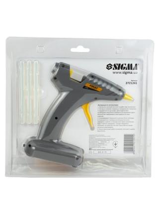 Пистолет клеевой  Sigma аккумуляторный 2721241