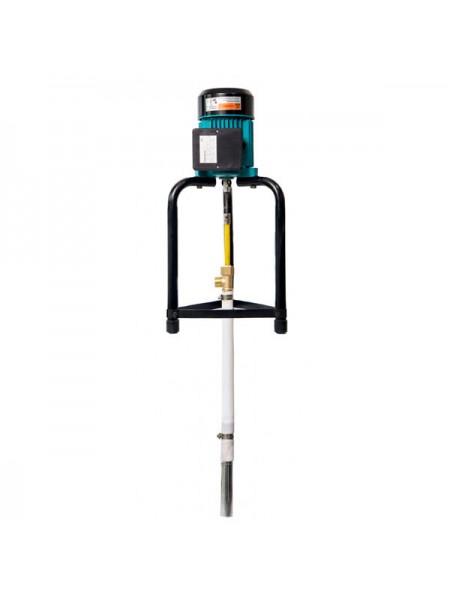 Насос полупогружной шнековый с гибким валом 25м 0.75кВт Hmax 91м Qmax 30л/мин LEO (772602)