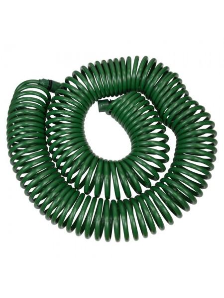Набор поливочный: шланг спиральный 30м + пистолет распылитель 7-ми режимный Grad (5019085)