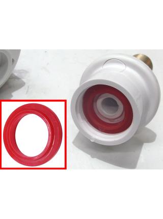 Кран-водонагреватель проточный NZ 3.0кВт 0,4-5бар для кухни гусак прямой на гайке с дисплеем AQUATICA (NZ-6B242W)