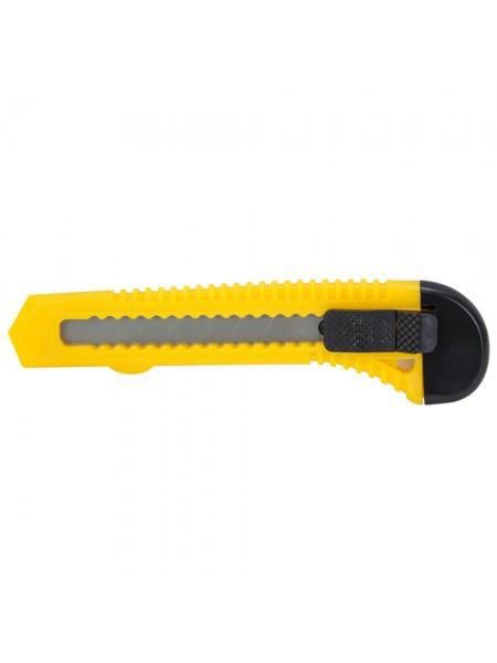 Нож строительный (пластиковый корпус) лезвие 18мм автоматический замок Sigma (8213011)