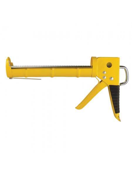 Пистолет для герметиков с трещеткой 225мм (полузакрытый), Sigma 2723081