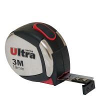 Рулетка магнитная, нейлоновое покрытие 3м, 19мм, Ultra Sigma 3822032