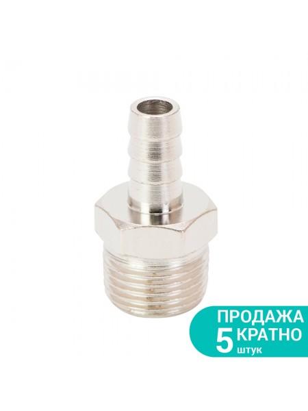 """Штуцер для шланга с наружным резьбовым соединением 10мм 1/2"""" Sigma (7023341)"""