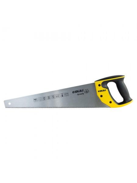 Ножовка по дереву 450мм 11TPI Grizzly Sigma 4400881