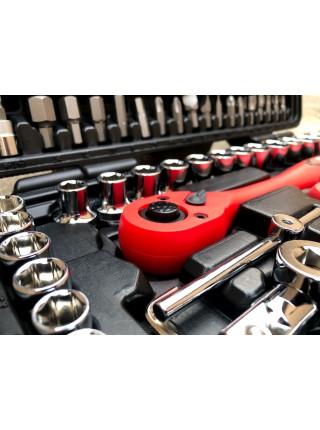 Профессиональный набор инструментов 1/2, 1/4, 108ед, INTERTOOL ET-6108