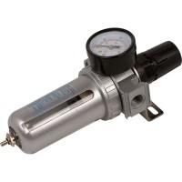Фильтр воздушный с редуктором и манометром 3/8'', MIOL 81-422