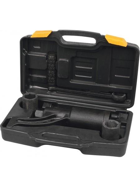Ключ балонный роторный для грузовых автомобилей головки CRMo 32, 33мм, PREMIUM Miol 57-025