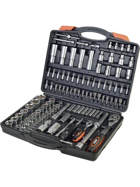 Профессиональный набор инструментов для авто 1/4, 1/2, 111 шт, Miol 58-099