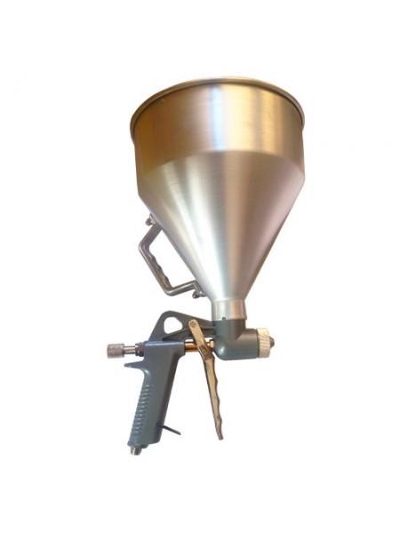 Пневмопистолет для нанесения цемента с алюм.баком, MIOL 81-562