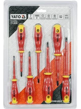 Набор диэлектрических отвёрток Yato YT-2828