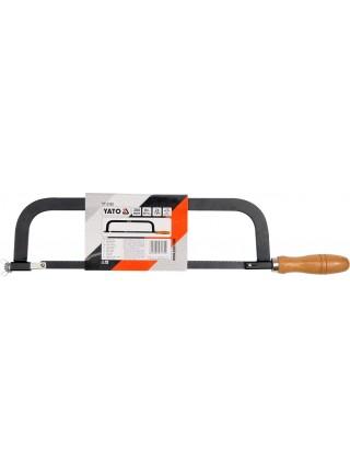 Ножовка по металлу с деревянной ручкой Yato YT-3160