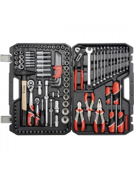 Набор инструмента для автомобиля универсальный 122 ед. Yato YT-38901