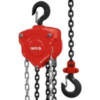 Промышленная ручная цепная таль до 10 тонн Yato YT-58957