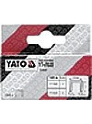 Скобы G 6 мм 1000 шт Yato YT-7022