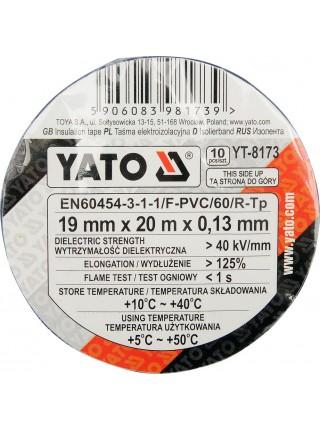Набор изоленты 20 метров Yato YT-8173