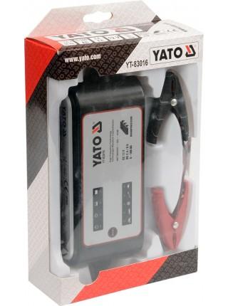 Зарядное устройство для автомобильного аккумулятора 230 Вольт. Yato YT-83016